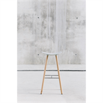 Coma Wood high stool