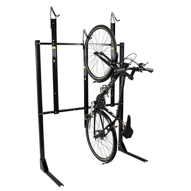 Vertical Rack 3 4 6 8 Bike Capacity Bike Fixation