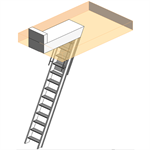 Automatic Super Simplex Folding Stairway