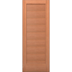 Wood Louver Door - Interior Residential or Commercial with Fire Options - K7330