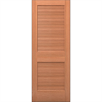 Wood Louver Door - Interior Residential or Commercial with Fire Options - K7300